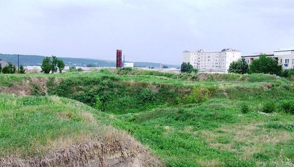 Inainte de constructia Curtilor Domnesti Sursa foto: soringrumazescu.ro