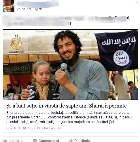 Foto si share-ul cu pricina