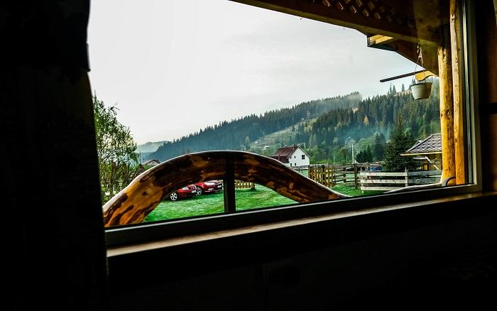 Dimineti la geam in Vatra Dornei